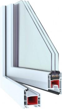 Пластиковые окна NOVOTEX 58